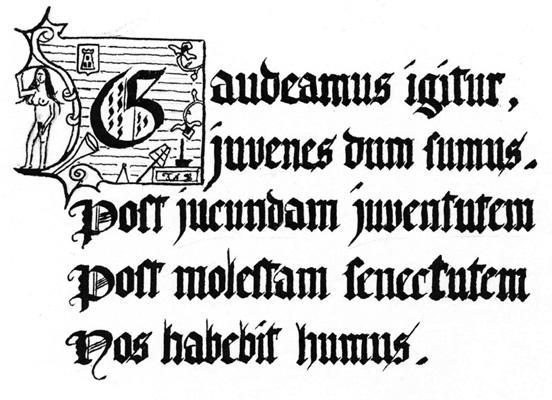 Hasil gambar untuk gaudeamus igitur